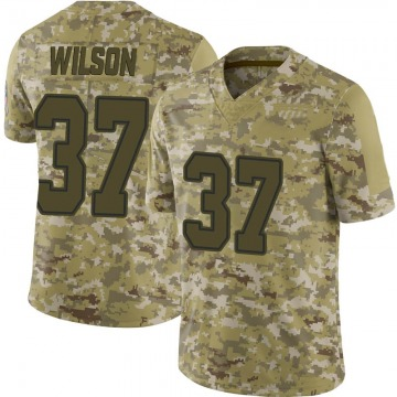Youth Nike Dallas Cowboys Donovan Wilson Camo 2018 Salute to Service Jersey - Limited