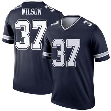 Youth Nike Dallas Cowboys Donovan Wilson Navy Jersey - Legend