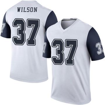 Youth Nike Dallas Cowboys Donovan Wilson White Color Rush Jersey - Legend