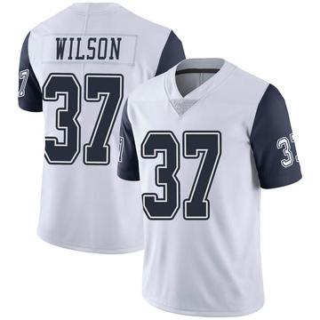 Youth Nike Dallas Cowboys Donovan Wilson White Color Rush Vapor Untouchable Jersey - Limited