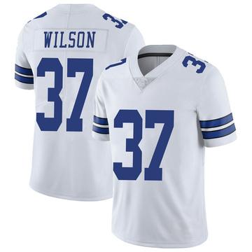 Youth Nike Dallas Cowboys Donovan Wilson White Vapor Untouchable Jersey - Limited