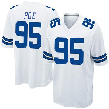 Youth Nike Dallas Cowboys Dontari Poe White Jersey - Game