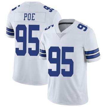 Youth Nike Dallas Cowboys Dontari Poe White Vapor Untouchable Jersey - Limited