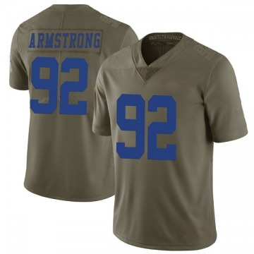 Youth Nike Dallas Cowboys Dorance Armstrong Green 2017 Salute to Service Jersey - Limited