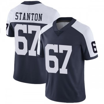 Youth Nike Dallas Cowboys Dustin Stanton Navy Alternate Vapor Untouchable Jersey - Limited
