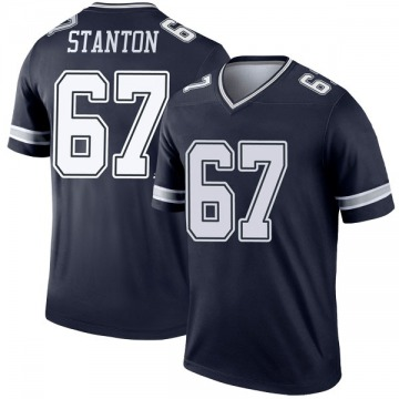 Youth Nike Dallas Cowboys Dustin Stanton Navy Jersey - Legend