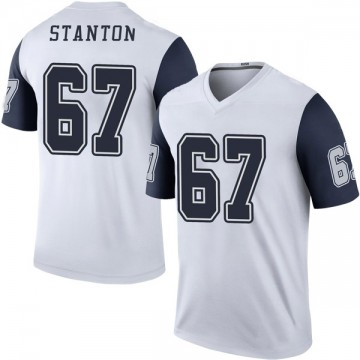 Youth Nike Dallas Cowboys Dustin Stanton White Color Rush Jersey - Legend