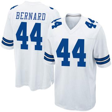 Youth Nike Dallas Cowboys Francis Bernard White Jersey - Game