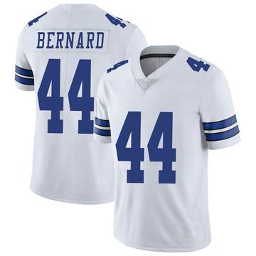 Youth Nike Dallas Cowboys Francis Bernard White Vapor Untouchable Jersey - Limited