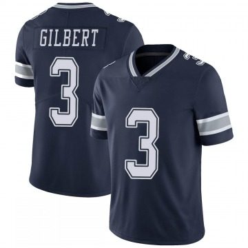 Youth Nike Dallas Cowboys Garrett Gilbert Navy 100th Vapor Jersey - Limited