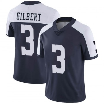 Youth Nike Dallas Cowboys Garrett Gilbert Navy Alternate Vapor Untouchable Jersey - Limited