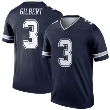 Youth Nike Dallas Cowboys Garrett Gilbert Navy Jersey - Legend