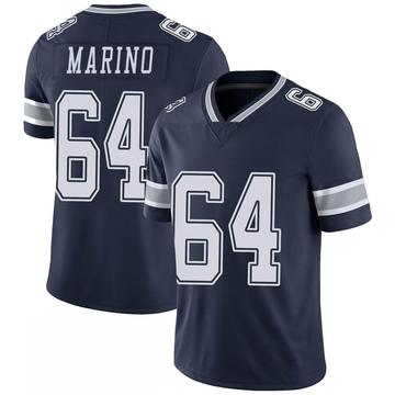 Youth Nike Dallas Cowboys Garrett Marino Navy 100th Vapor Jersey - Limited