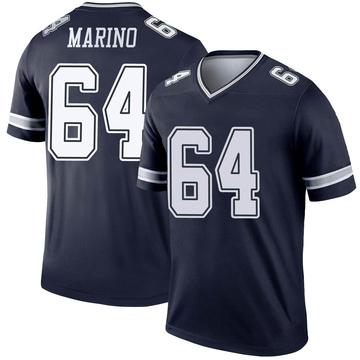 Youth Nike Dallas Cowboys Garrett Marino Navy Jersey - Legend