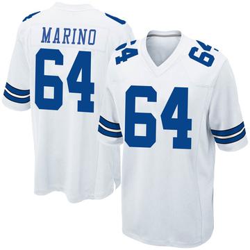 Youth Nike Dallas Cowboys Garrett Marino White Jersey - Game