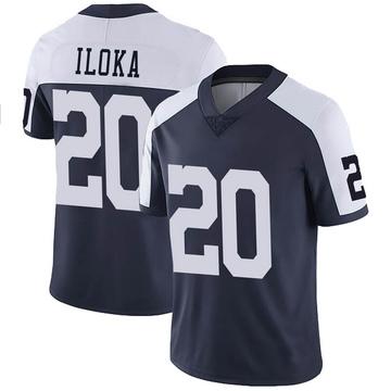 Youth Nike Dallas Cowboys George Iloka Navy Alternate Vapor Untouchable Jersey - Limited