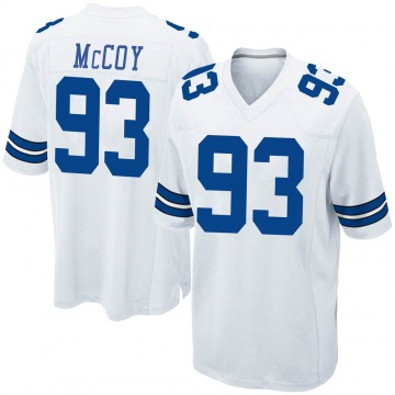 Youth Nike Dallas Cowboys Gerald McCoy White Jersey - Game