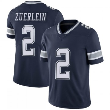Youth Nike Dallas Cowboys Greg Zuerlein Navy 100th Vapor Jersey - Limited