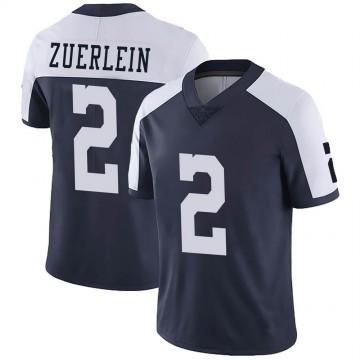 Youth Nike Dallas Cowboys Greg Zuerlein Navy Alternate Vapor Untouchable Jersey - Limited