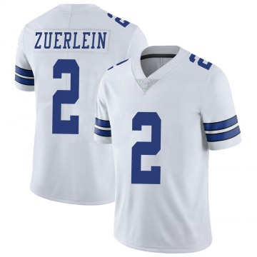 Youth Nike Dallas Cowboys Greg Zuerlein White Vapor Untouchable Jersey - Limited