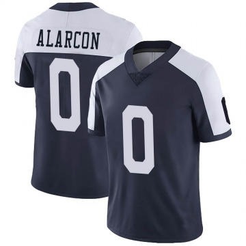 Youth Nike Dallas Cowboys Isaac Alarcon Navy Alternate Vapor Untouchable Jersey - Limited