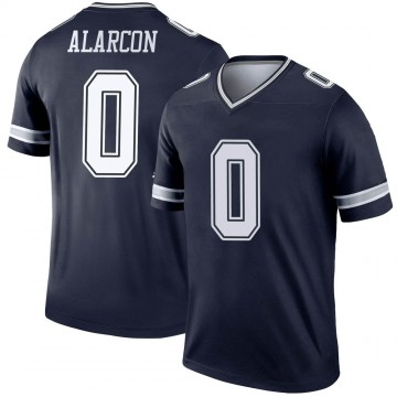 Youth Nike Dallas Cowboys Isaac Alarcon Navy Jersey - Legend