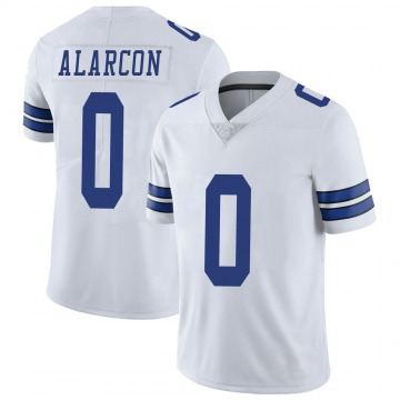 Youth Nike Dallas Cowboys Isaac Alarcon White Vapor Untouchable Jersey - Limited