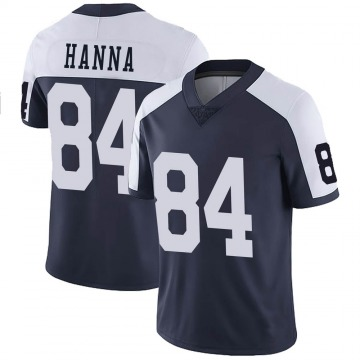 Youth Nike Dallas Cowboys James Hanna Navy Alternate Vapor Untouchable Jersey - Limited
