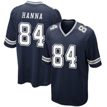 Youth Nike Dallas Cowboys James Hanna Navy Team Color Jersey - Game