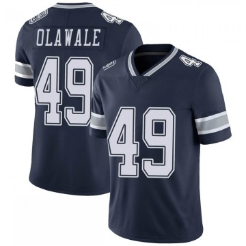 Youth Nike Dallas Cowboys Jamize Olawale Navy 100th Vapor Jersey - Limited