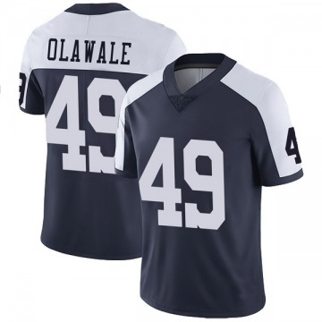 Youth Nike Dallas Cowboys Jamize Olawale Navy Alternate Vapor Untouchable Jersey - Limited