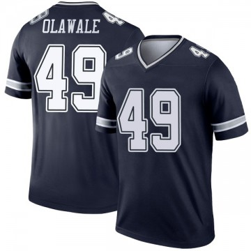 Youth Nike Dallas Cowboys Jamize Olawale Navy Jersey - Legend