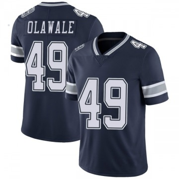 Youth Nike Dallas Cowboys Jamize Olawale Navy Team Color Vapor Untouchable Jersey - Limited
