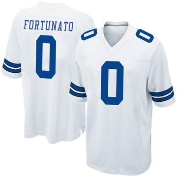 Youth Nike Dallas Cowboys Joe Fortunato White Jersey - Game