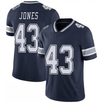 Youth Nike Dallas Cowboys Joe Jones Navy 100th Vapor Jersey - Limited