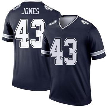 Youth Nike Dallas Cowboys Joe Jones Navy Jersey - Legend