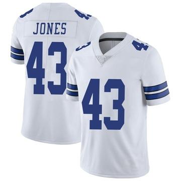 Youth Nike Dallas Cowboys Joe Jones White Vapor Untouchable Jersey - Limited