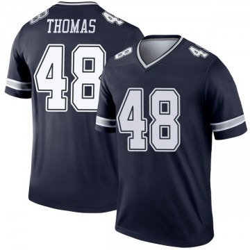 Youth Nike Dallas Cowboys Joe Thomas Navy Jersey - Legend