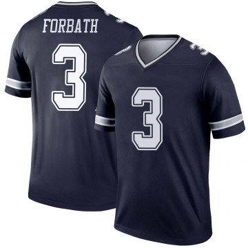 Youth Nike Dallas Cowboys Kai Forbath Navy Jersey - Legend