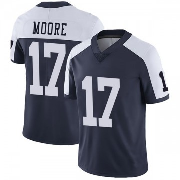 Youth Nike Dallas Cowboys Kellen Moore Navy Alternate Vapor Untouchable Jersey - Limited