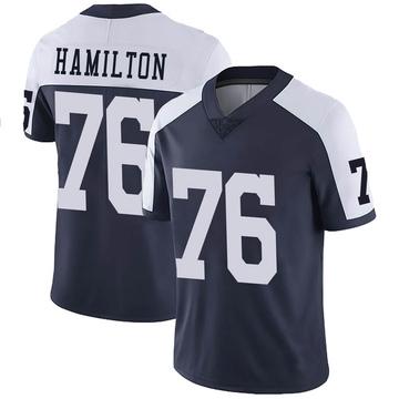 Youth Nike Dallas Cowboys LaDarius Hamilton Navy Alternate Vapor Untouchable Jersey - Limited