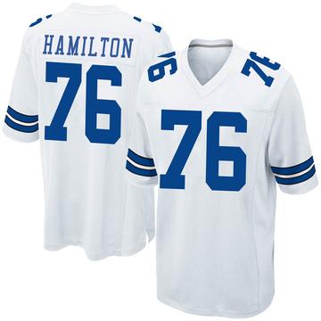Youth Nike Dallas Cowboys LaDarius Hamilton White Jersey - Game