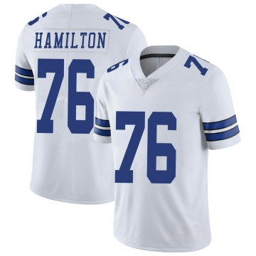 Youth Nike Dallas Cowboys LaDarius Hamilton White Vapor Untouchable Jersey - Limited