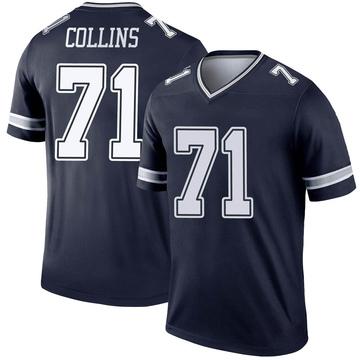 Youth Nike Dallas Cowboys La'el Collins Navy Jersey - Legend