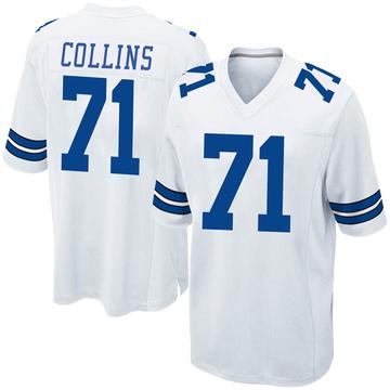 Youth Nike Dallas Cowboys La'el Collins White Jersey - Game
