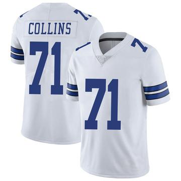 Youth Nike Dallas Cowboys La'el Collins White Vapor Untouchable Jersey - Limited