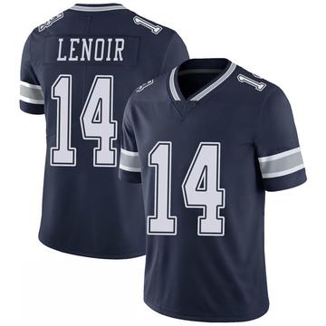 Youth Nike Dallas Cowboys Lance Lenoir Navy 100th Vapor Jersey - Limited