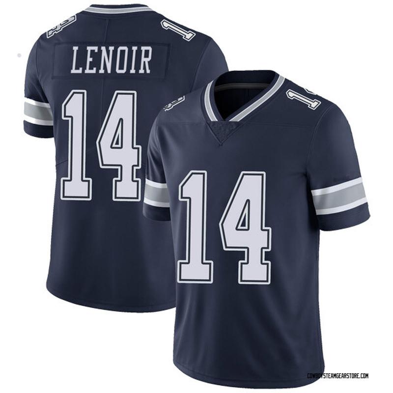 63b4f850 Youth Nike Dallas Cowboys Lance Lenoir Navy Team Color Vapor Untouchable  Jersey - Limited