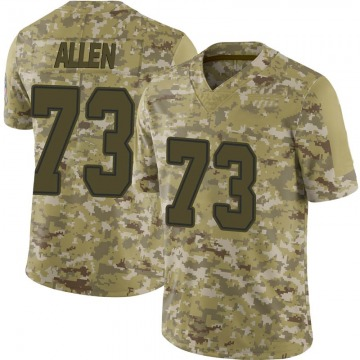 Youth Nike Dallas Cowboys Larry Allen Camo 2018 Salute to Service Jersey - Limited