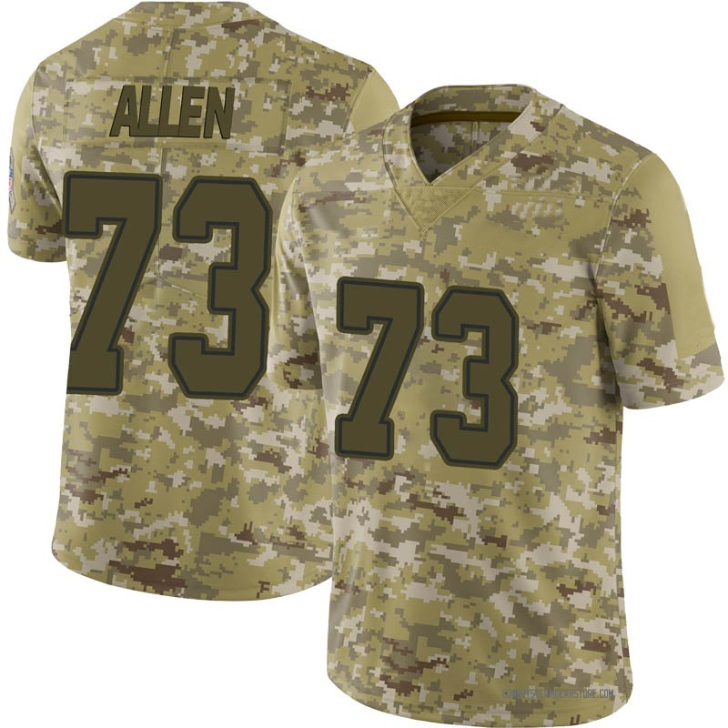 the best attitude 67129 90c11 Youth Nike Dallas Cowboys Larry Allen Camo 2018 Salute to Service Jersey -  Limited